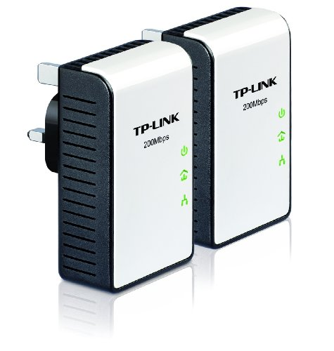 TP-Link TL-PA211KIT 200Mbps Mini Powerline Ethernet Adapter - Twin Pack