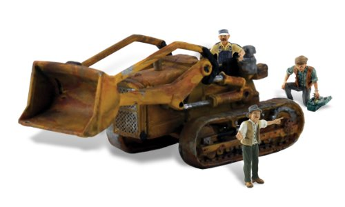 Autoscene Fritzs Front Loader w/Figures HO Scale Woodland Scenics (Heavy Equipment Models compare prices)