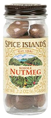 Spice Islands Nutmeg, Whole, 1.9-Ounce (Pack of 3) from Spice Islands