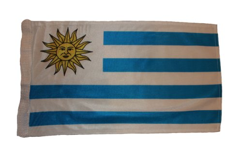 Sale alerts for FLAG INC. Uruguay FIFA Soccer World Cup 28 X 47 Cm HIGH QUALITY FLAG With Sleave Without Stick .. New - Covvet