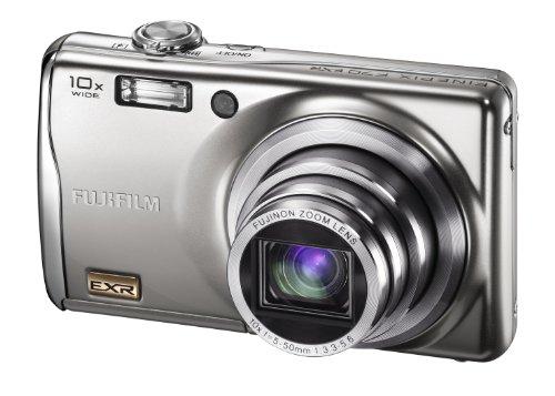Fujifilm FinePix F70EXR Digital Camera - Silver (10MP, 10x Zoom) 2.7 inch LCD