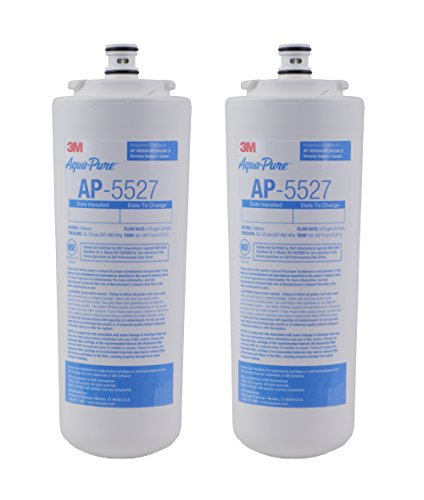 Aqua-Pure AP5527 5598101 Under Sink Reverse Osmosis Replacement Filter Cartridge,Pack of 2 (Aqua Pure Water Filter Ap5527 compare prices)