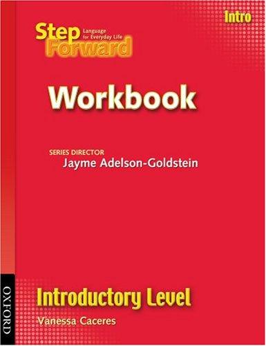 Step Forward Intro Workbook Introductory (Step Forward...