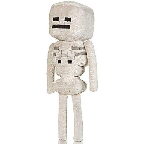 "Official Minecraft Skeleton 13"" Plush Toy Figure - 마이 구라후토  13인치 스켈리턴 봉제인형-JINX-#4635"