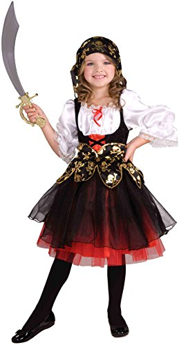 Forum Novelties Lil' Pirate's Treasure Child Costume, Medium