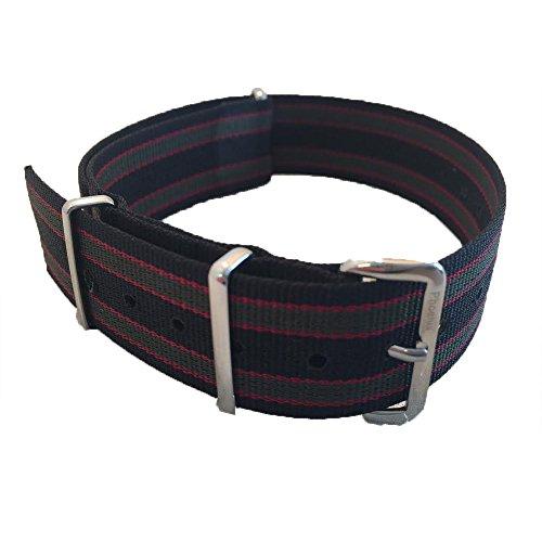 phoenix-straps-nato-strap-james-bond-regimental-verde-rosso-nero-a-strisce-22mm