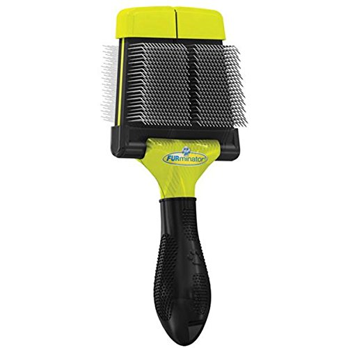 FURminator Firm Grooming Slicker Brush, Dog, Small (Tamaño: Small)
