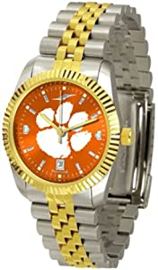 Clemson Tigers Executive AnoChrome Mens Watch by SunTime