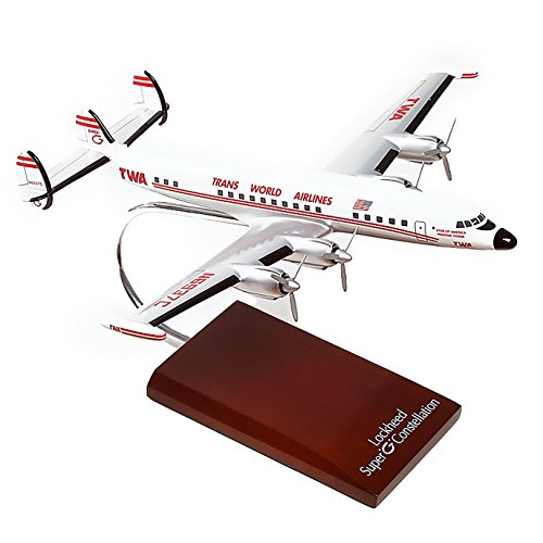 Mastercraft Collection Lockheed L-1049G TWA Super Constellation Airliner Airplane Plane Model Scale:1/100 (Lockheed Constellation Model compare prices)