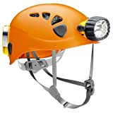Petzl Spelios Caving Helmet & Duo 14 LED Headlamp