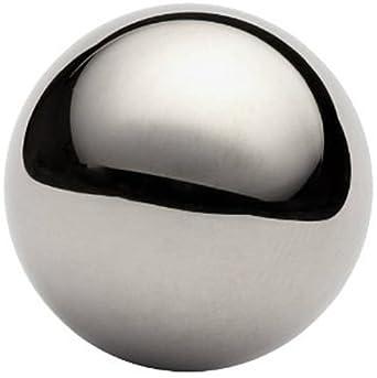 "One 1-1/8"" Chrome steel bearing ball"