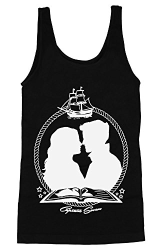 Once Upon A Time Captain Swan Women's Tank Top Extra Large