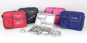 PlanetBox Rover Lunchbox Complete Set from 3rd Stone Design
