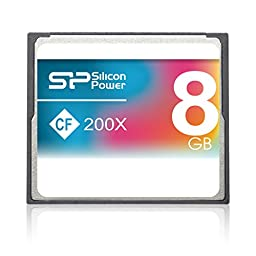 Silicon Power Compact Flash Card 8GB 200X