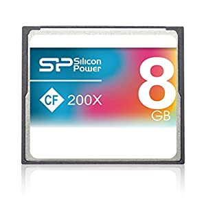 Silicon Power CompactFlash Memory Card 200x 8 GB