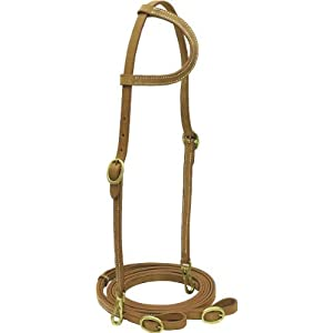 Cowboy Pro Slide Ear Harness Bridle - Harness - Horse