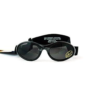 Adventure BanZ Baby Sunglasses, Black Tattoo,  0-2 Years