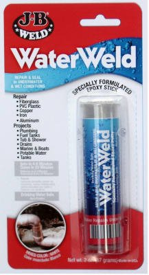 J-B Weld 8277 2-oz. Waterweld Auto Epoxy Putty