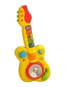 Mee Mee Mee Mee Rock N Roll Guitar Musical Toy, Multi Color