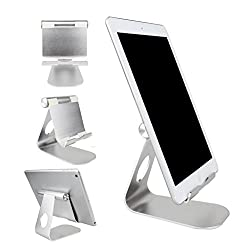 Imported Universal Phone Tablet Aluminum Desktop Stand Mount Holder for iPad Air Pro