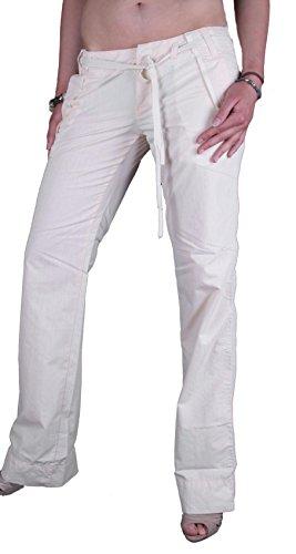 Diesel Pantaloni chino Hikkaido Donna 00BGB Crema #9 - Panna, 28W / 34L, Crema