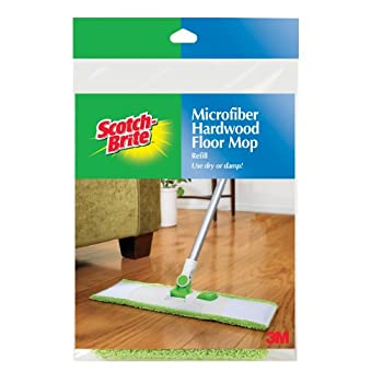 Set A Shopping Price Drop Alert For Scotch-Brite Microfiber Hardwood Floor Mop Refill M-005-R, 1-Count