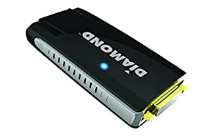 Diamond BVU195 HD USB 2.0 to VGA / DVI / HDMI Adapter (DisplayLink DL-195 Chipset)