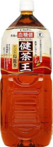 [トクホ]アサヒ飲料 健茶王 すっきり烏龍茶 2L×6本