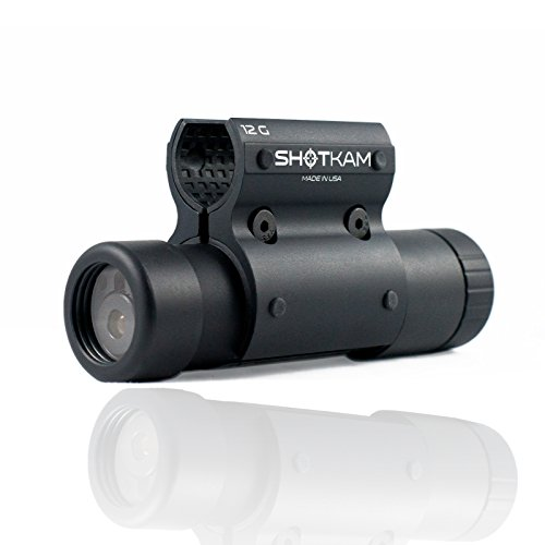 ShotKam-Gun-Camera-Mounted-to-Barrel-of-Shotgun-For-Clay-Shooting-Game-Hunting-and-Trail-Video-Camera-HD-Waterproof-12G-New-2016-Model