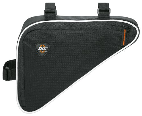 SKS, Borsa bicicletta Triangle Bag, Nero (Schwarz)