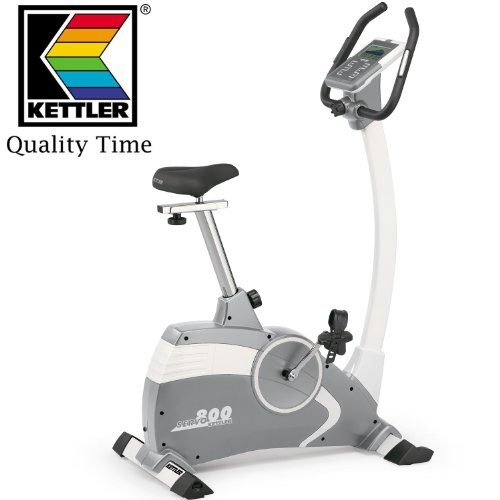 Kettler Servo 800 Exercise Bike Upright - 3 Years Parts  &  Labour Warranty