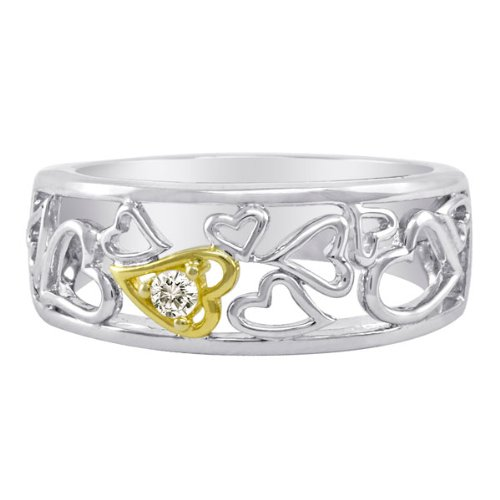 valentines day jewelry accent ring in