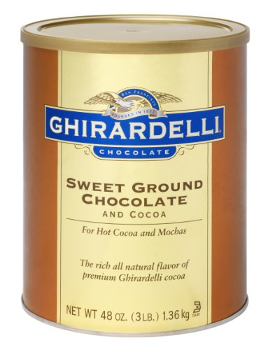 Ghirardelli Chocolate Sweet Ground Chocolate and Cocoa Beverage Mix, 48-Ounce Canister at Sears.com