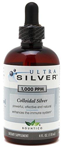 Ultra Silver Colloidal Silver 1000 PPM - 4 Oz