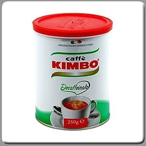 Kimbo Coffee Espresso Grounded Decaf 8.8 Oz Tin