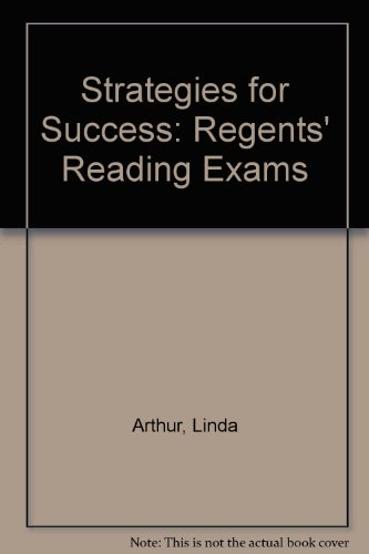 Strategies for Success: Regents' Reading Exams