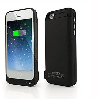 Moving Life 4200mAh External Battery Backup Charger Case Pack with Power Bank for iPhone 5/5s/5c - Black by Moving Life