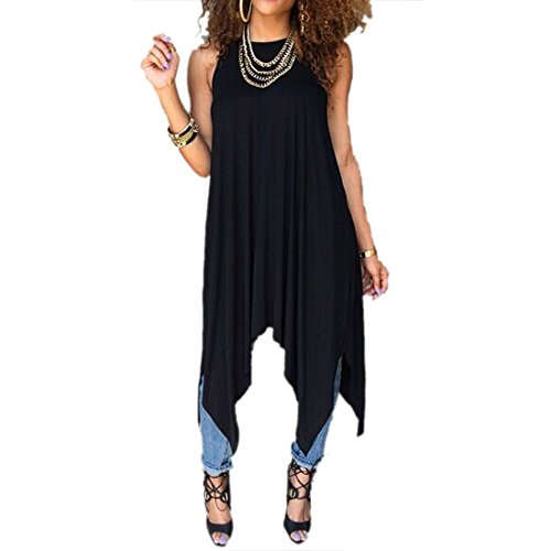 Personality Women Sexy New Loose Casual Party Club Sweet Cute Hot Top Vest Dress