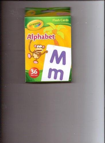Crayola Alphabet Flash Cards