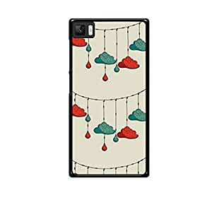 Vibhar printed case back cover for Xiaomi Mi 3 HangingClouds