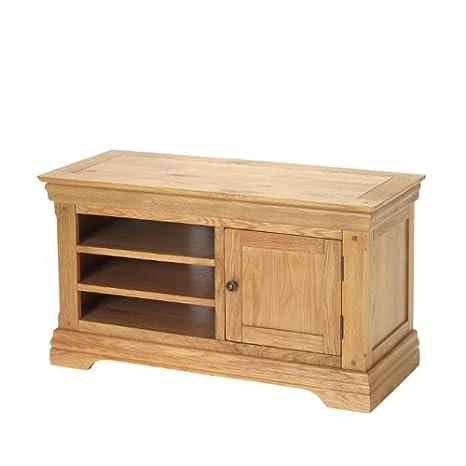 Breton Rustic Oak TV Cabinet - Furniture
