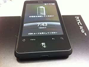 白ロム イーモバイル HTC S31HT Aria  ブラック 中古品