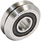 RM2-2RS 3/8 V Groove Guide Bearing Sealed Ball Bearings