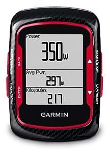 Garmin GPS Gerät Edge 500 Red Bundle, 010-00829-13