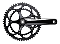 SRAM GXP 172.5mm 50-34T Apex Compact Crankset with BB (White Color)