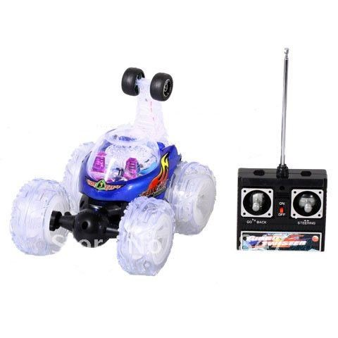 41sK5X%2B2v L Turbo Twister Radio Control Stunt Car with Lights