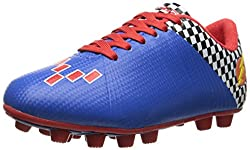 Vizari Prix Soccer Cleat Toddler Little Kid Blue/Red 11.5 M US Little Kid