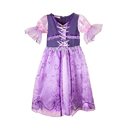 Rorychen Little Girls' Cartoon Princess Party Tutu Dress