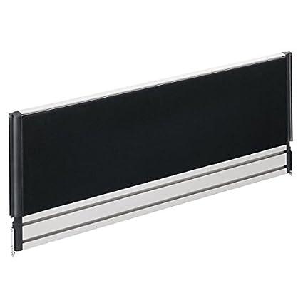 Novus escritorio separador Slatwall Wall Visio Element 100de luz gris