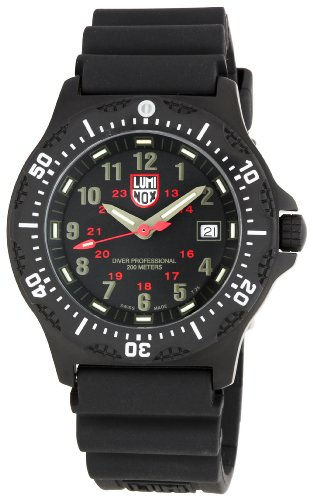 Luminox Men's Black OPS Watch 8411 Steel